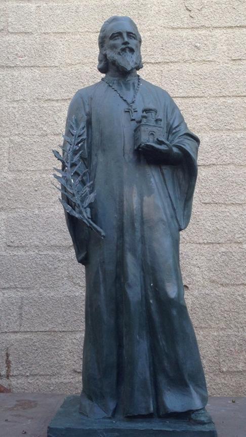 Создание памятника священнику Илие Попову в г. Ростове-на-Дону