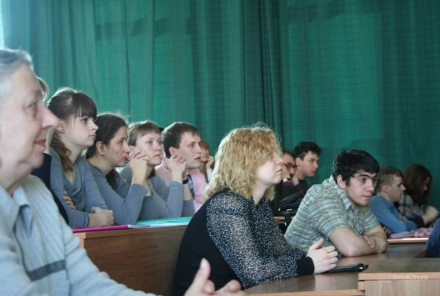 Презентация книги в Смоленском государственном университете 12 апреля 2013 г.