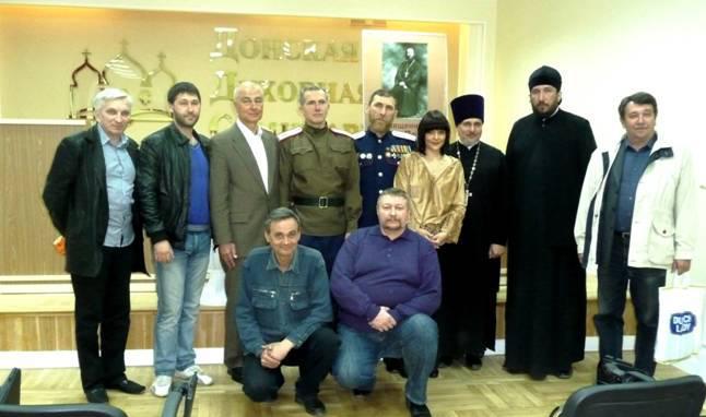 Презентация книги в Донской духовной семинарии 19 апреля 2013 г.