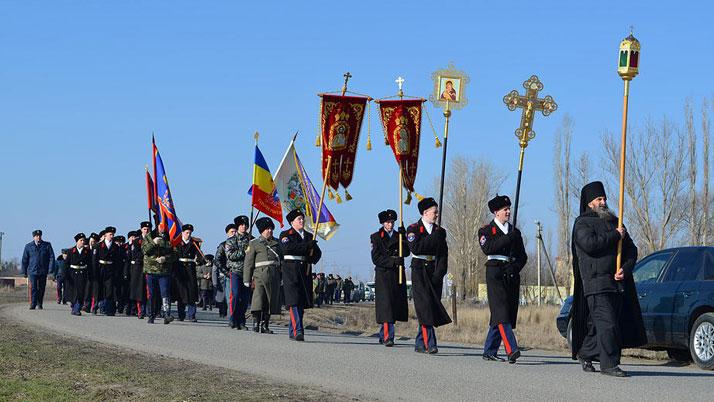 Крестный ход в станице Старочеркасской