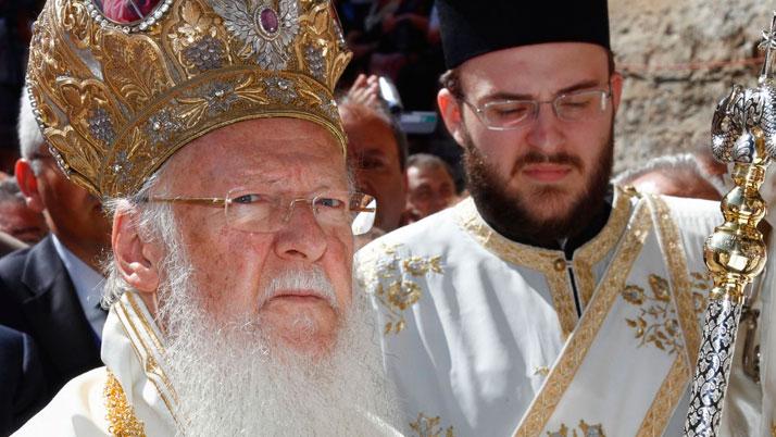 Прием у Вселенского патриарха