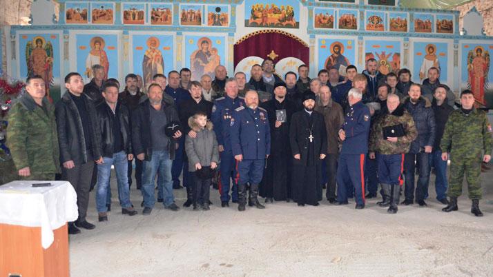 Панихида по жертвам геноцида казаков
