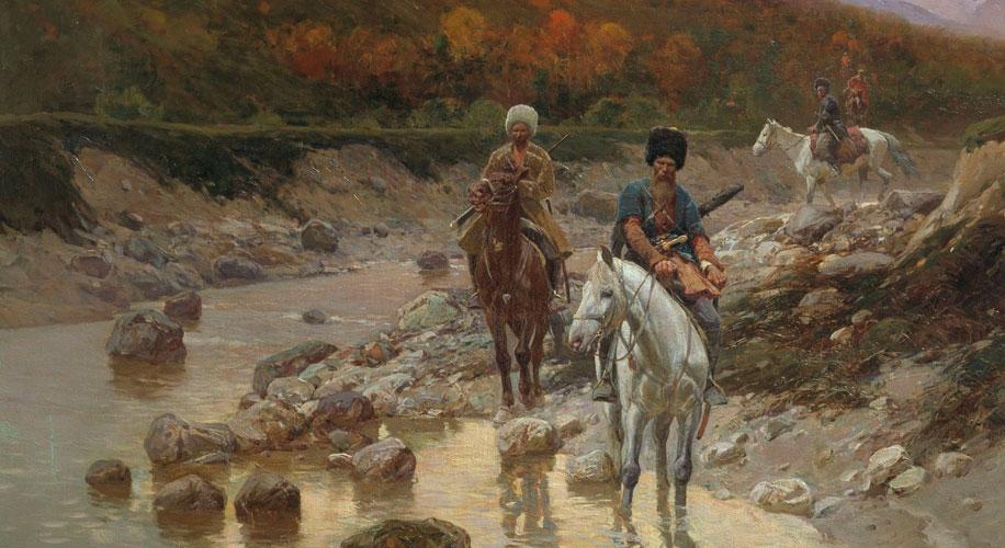 Донское казачество в конце XVII в. Путь на Кавказ