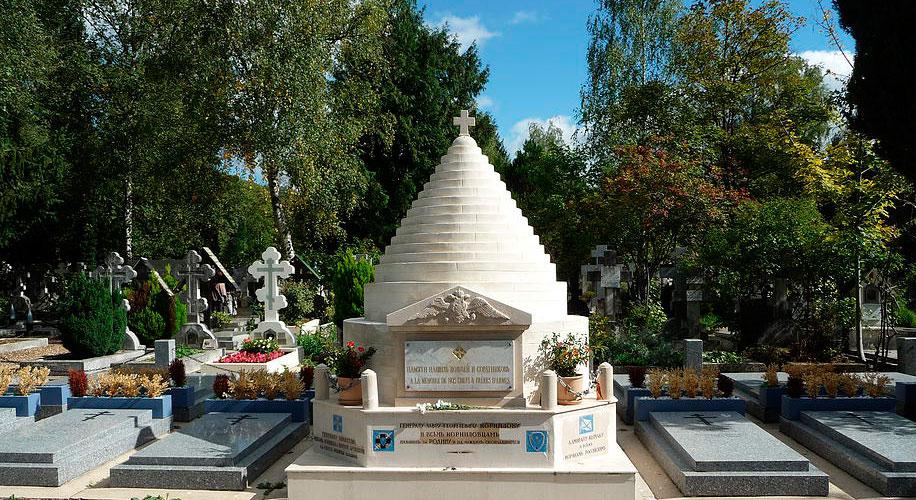 Русское кладбище Сент-Женевьев-де-Буа