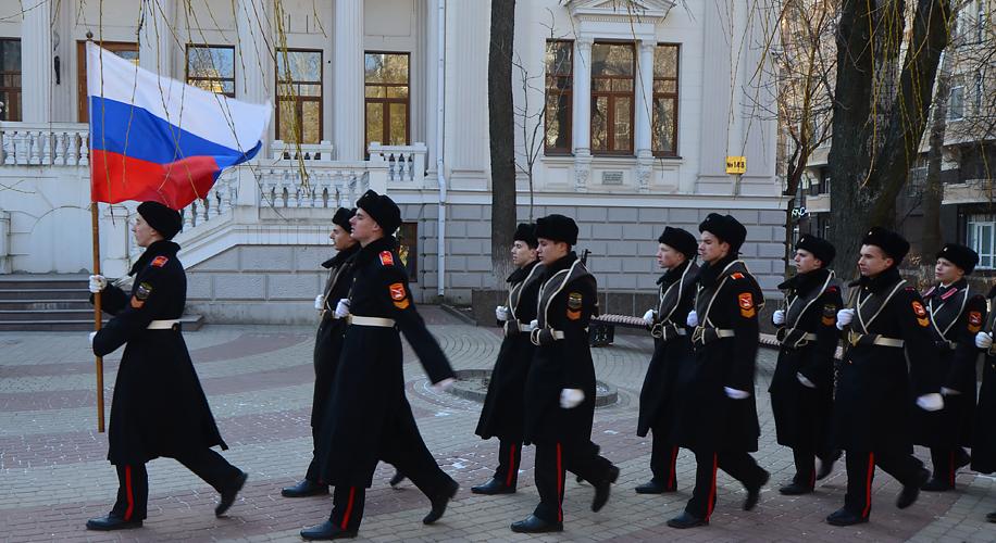 Годовщина Ледяного похода в Ростове-на-Дону