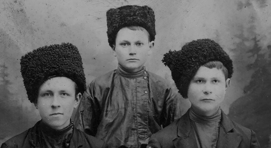 Казачий фотоархив: Убиены в 1919 году
