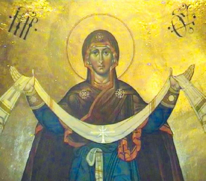 Праздник Покрова в Флоро-Лаврском храме в репортаже КазТСН