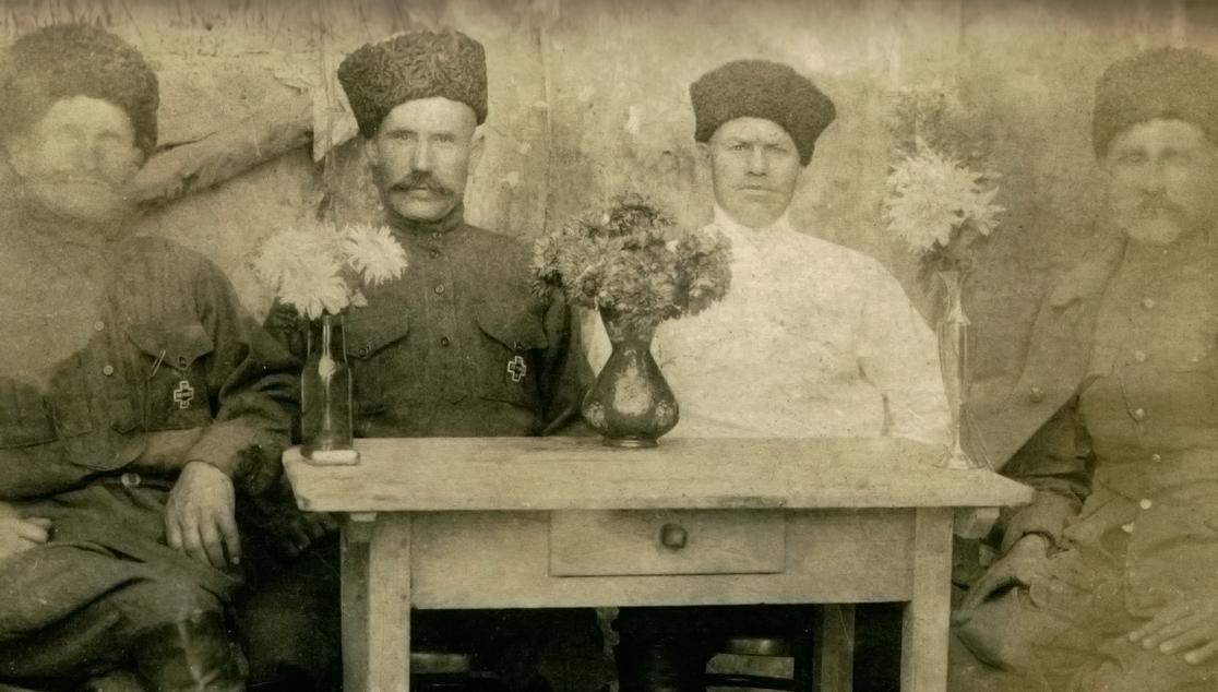Казаки станицы Григориполисской