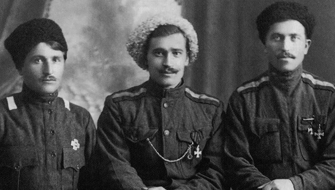 Казаки станицы Кармалинской — участники Белого Движения