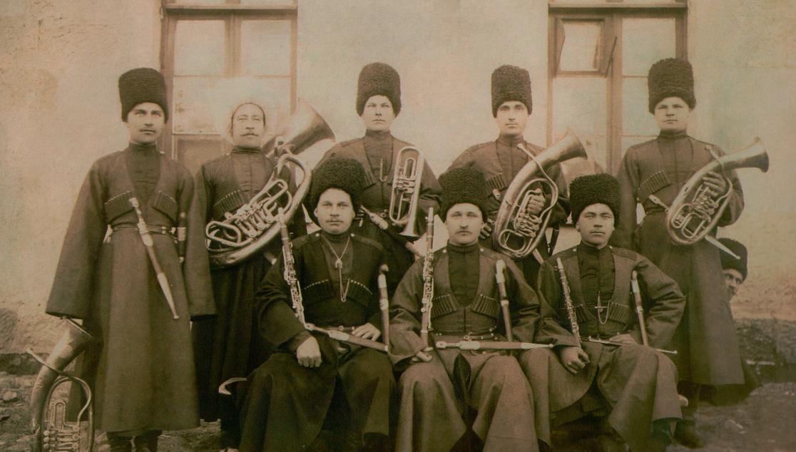 Казак ст. Новоалександровской Иван Яковлевич Лаушкин и его семья