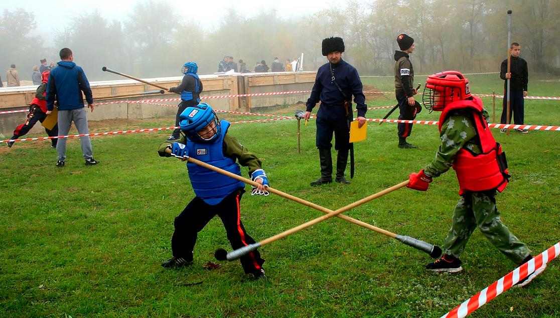 Военная игра XVIII в. в окрестностях Старочеркасска