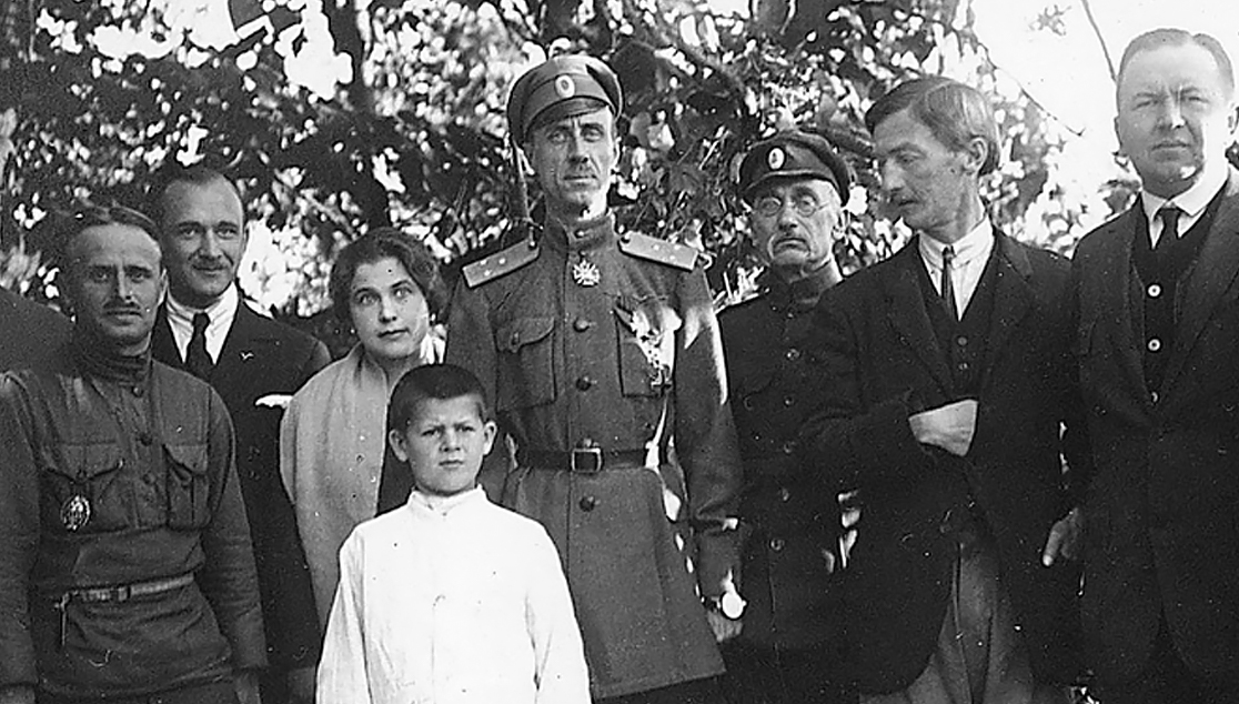 Пётр Николаевич Врангель 1920-е годы