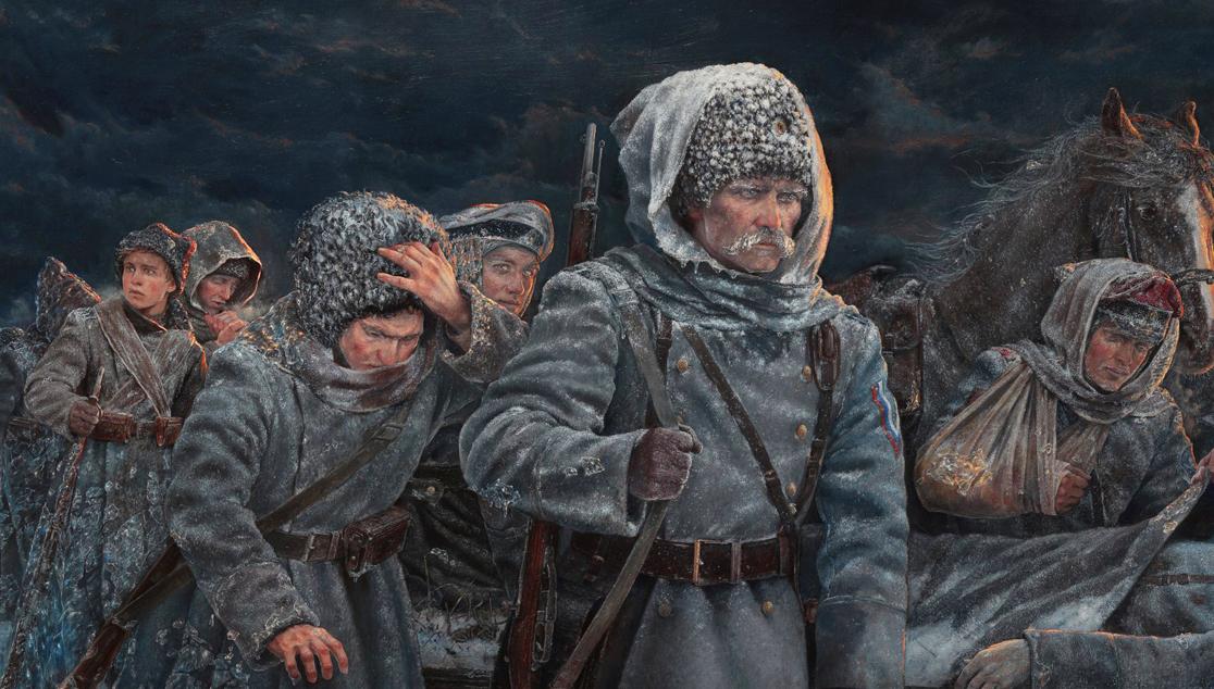 «Ледяной» поход в воспоминаниях участников